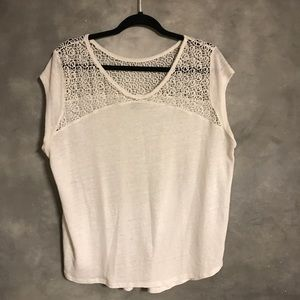 White cap sleeve Old Navy Top